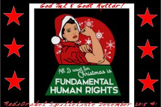 Vi ønsker dere en knall fiin Jul og et heidundranes GODT nyttår!!!!  Klem Morten Magnus & Ciaà