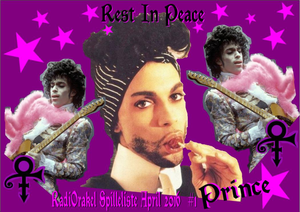 Det er med stor sorg at jeg leste at Prince var død! Han er på lista med Let`s Go Crazy fordi det er en fantastisk glad låt. Det er slik jeg vil huske han