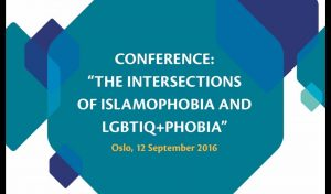 Innslag fra konferansen «The intersections of islamophobia and LHBTIQ+phobia