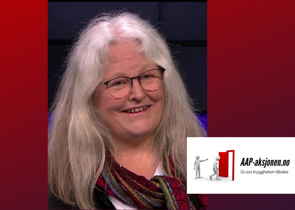 Elisabeth Thoresen -leder i AAP-aksjonen