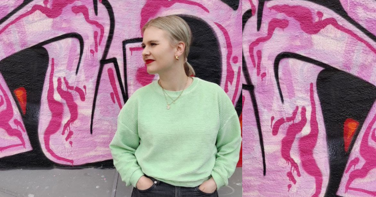 Artist Marthe Susann på radiOrakelbesøk mai 2021