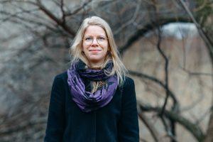Agnes Ida Pettersen snakker med Solveig om å komponere!